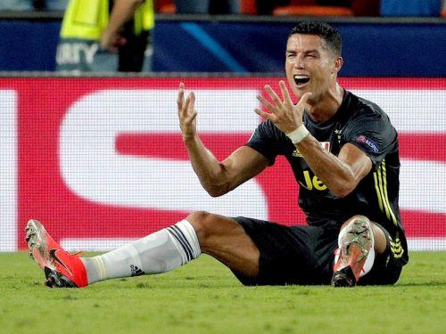 Fabio Quagliarella has overtaken Cristiano Ronaldo as top-scorer