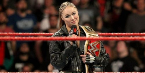 Ronda Rousey is fully committed to WWE and the art of professional wrestling