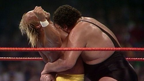 Hulk Hogan captured the imagination of wrestling fans when he body slammed Andre the Giant.