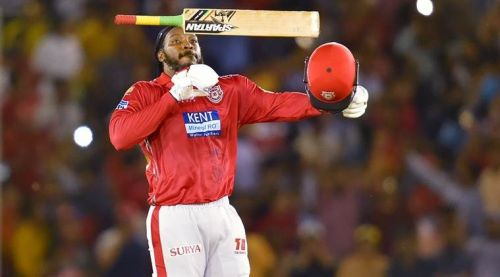 Image result for Chris Gayle in IPL 2018