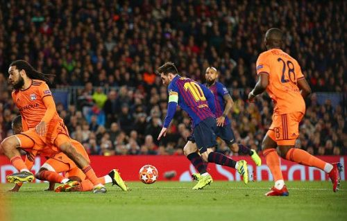 Lionel Messi knows how to get things done against Manchester United. He has scored in two different Champions League finals against them, both in a winning cause.