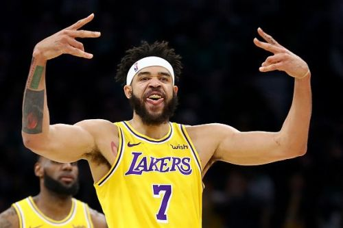 JaVale McGee has elevated his game this year for the Lakers