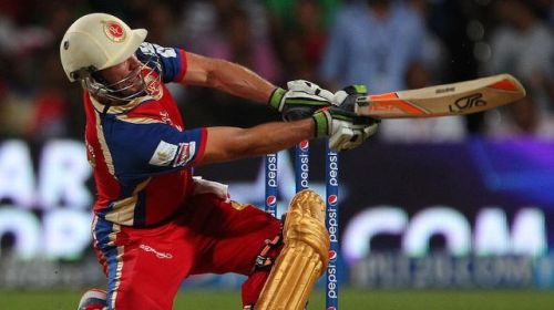 ABD's pyrotechnics helped RCB win the match with one ball to spare