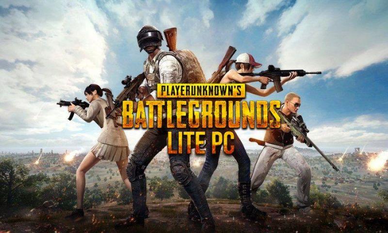 PUBG LITE,Pubg lover,game , low space,LITE PC