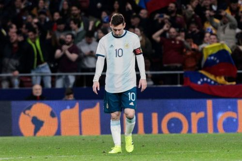 Messi sustained a groin injury during Argentina's game against Venezuela on Friday