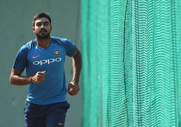 Vijay Shankar put up an impressive show against Australia recently.