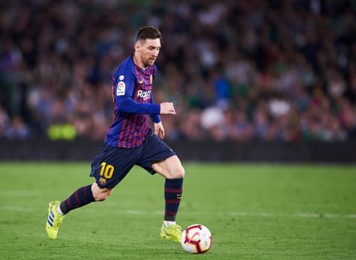 Messi ran the show for Barcelona