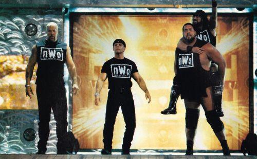 The nWo make their presence felt
