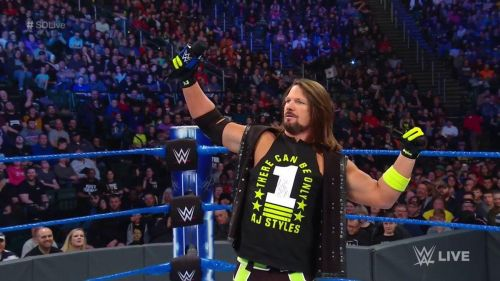 AJ Styles seems ready for WrestleMania