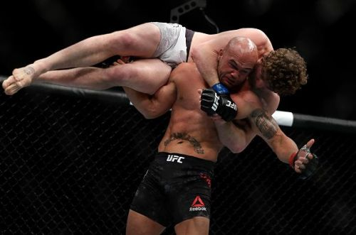 Ben Askren did what he could to Robbie Lawler at UFC 235