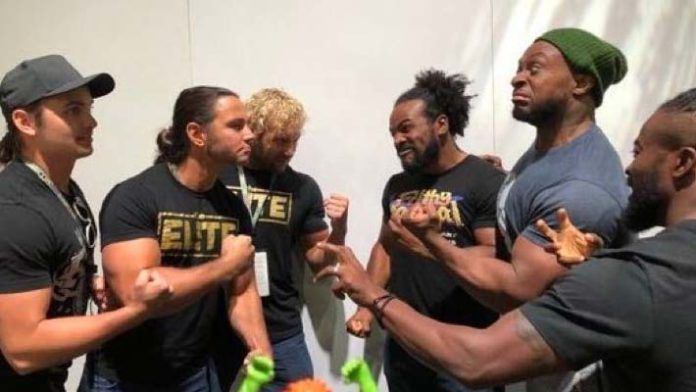 The Elite vs The New Day