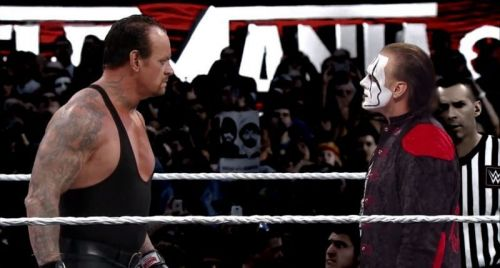 Sting vs Undertaker...In Another WWE Universe