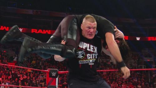 Brock Lesnar has hardly been around Lately and that has adversely affected the build-up for his match at Wrestlemania