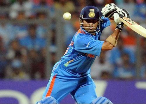 sachin tendulkar most fours in odi cricket world cup
