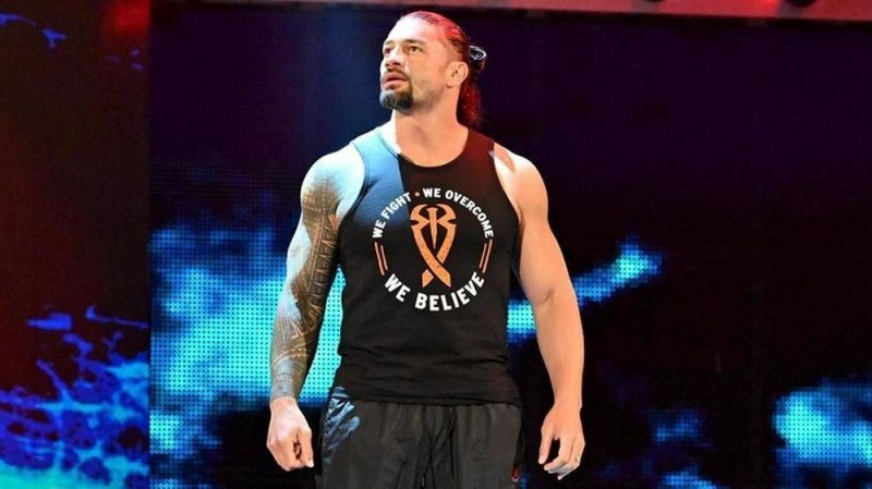 Roman Reigns recently returned from a battle with Leukemia, but he