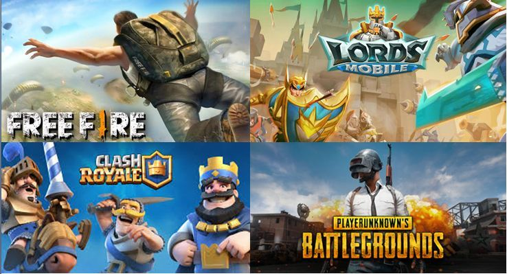 The games which are ensuring Mobile Esports has a