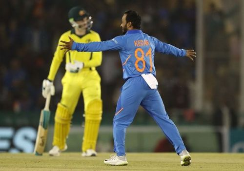 Jadhav's bowling has been found out in recent games