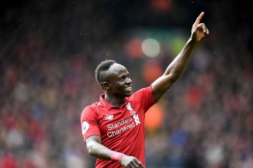 Sadio Mane is now the joint top-scorer for Liverpool alongside Mo Salah with 17 goals.