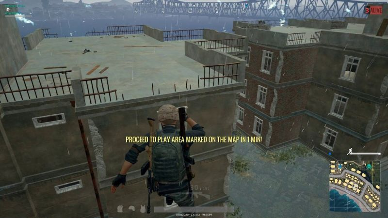 Do not jump from the top of the buildings