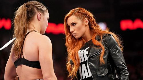 Becky Lynch vs Ronda Rousey at WrestleMania 35