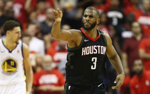 Paul was sidelined with the Rockets leading Golden State 3-2 - they lost the series 4-3