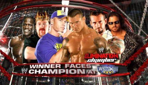 WWE Elimination Chamber countdown