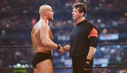 Austin aligned himself with his longtime foe Mr. McMahon