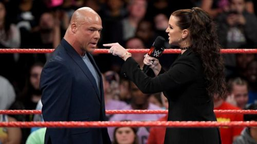 Kurt Angle opened up about his imminent retirement
