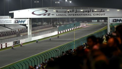 Losail International Circuit in Qatar
