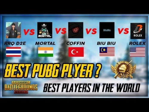 Pubg Mobile Best Pubg Players In The World Featuring
