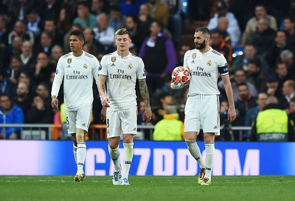 Real Madrid was acrimoniously dumped out of the Champions League