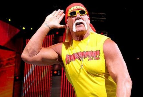 Hogan seems to be in good spirits following his WWE return