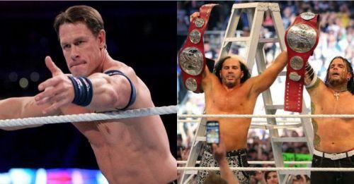 John Cena and Hardy Boyz