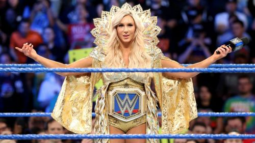 Charlotte gives credibility to the Smackdown women's title.