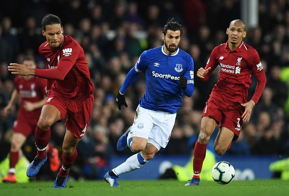 Everton FC v Liverpool FC - Premier League Everton FC v Liverpool FC - Premier League