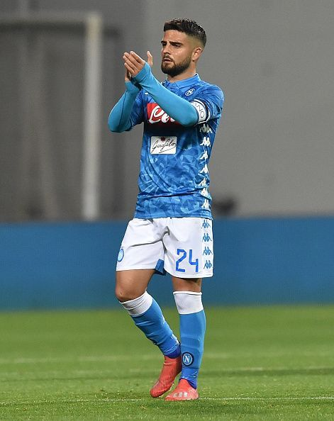 Lorenzo Insigne is back from injury for Napoli