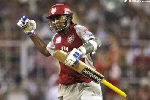 Mahela Jayawardene playing for KXIP is the sole centurion in KKR vs KXIP matches at Eden Gardens.