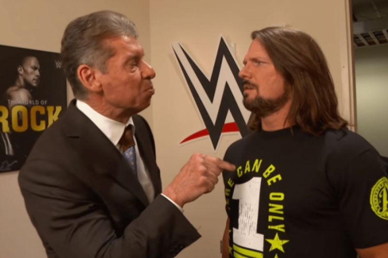 Will Vince McMahon offer Styles a new contract with the WWE?