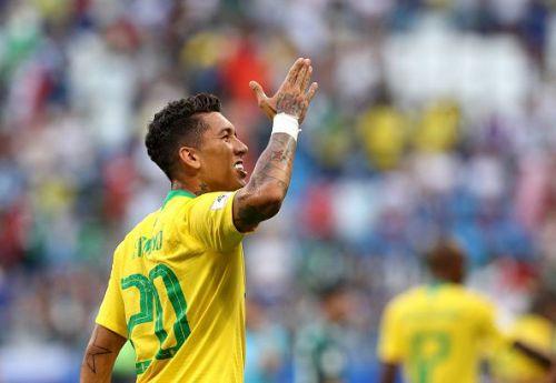 Firmino scored the equaliser for Brazil Brazil v Panama - International Friendly