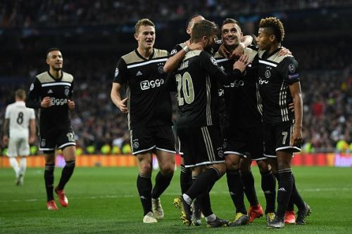 Ajax successfully eliminated Real Madrid in the last round