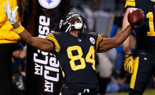 Pittsburgh Steelers Troubled Wide Receiver Antonio Brown