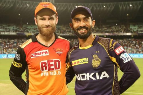 Dinesh Karthik will want to win the match in front of home fans while Williamson will miss the game due to injury