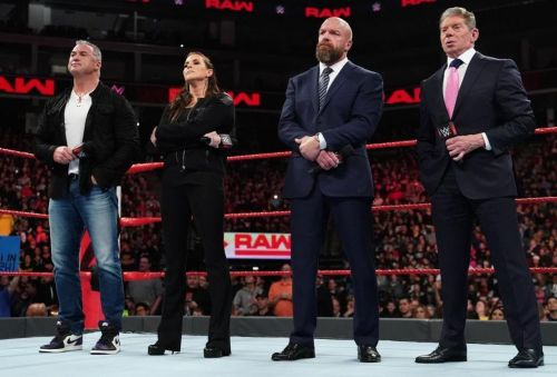 Why did the McMahon family all go heel at once?