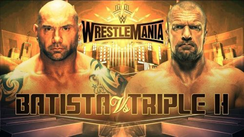 triple h vs batista wrestlemania 35