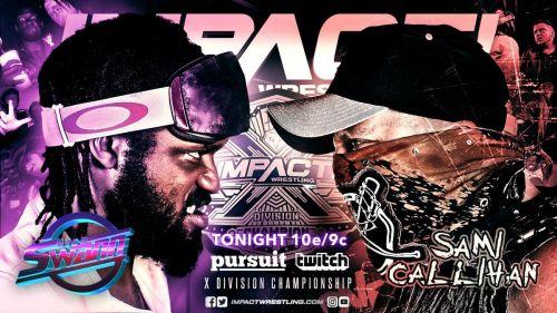 X-Division Champion vs Callihan Death Machine