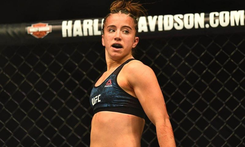 Maycee Barber is aiming to become the youngest champion in UFC history