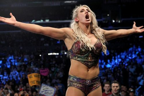 Charlotte Flair won the SmackDown Women's title this week on SmackDown Live