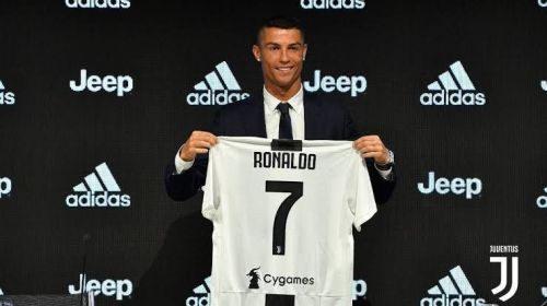 Ronaldo left Real Madrid for Juventus in 2018.
