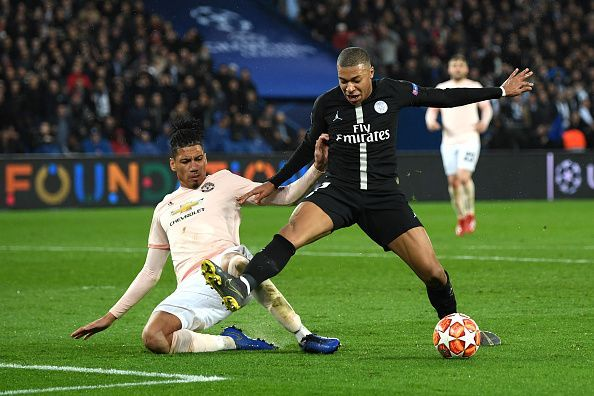 Kylian Mbappe is only 20 years old, but has won the World Cup and will Paris Saint-Germain v Manchester United - UEFA Champions League Round of 16: Second Leg