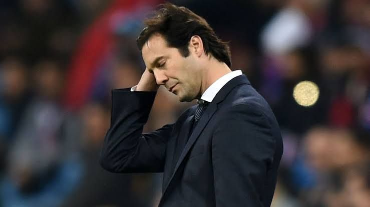 Santiago Solari is a big disappointment as a Real Madrid manager.